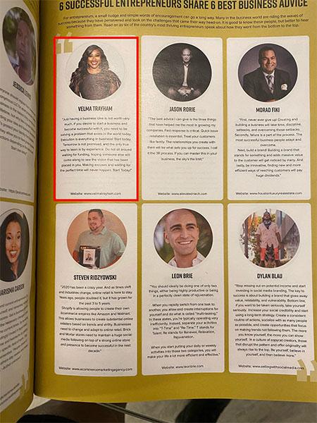 Thinkzilla CEO Velma Trayham - Forbes Magazine