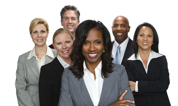 diverse busines people